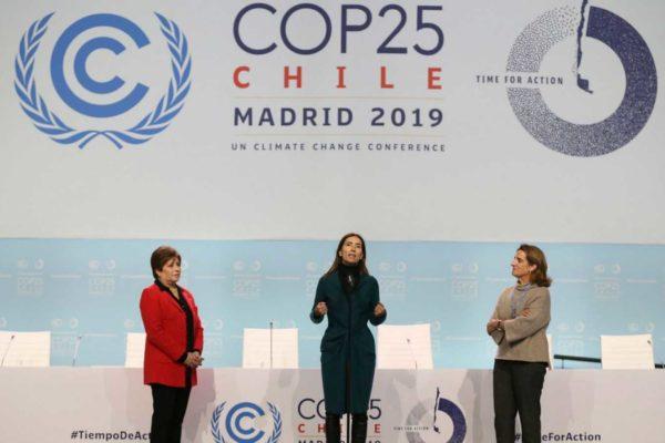 Todo listo en Madrid para la cumbre mundial del clima este lunes