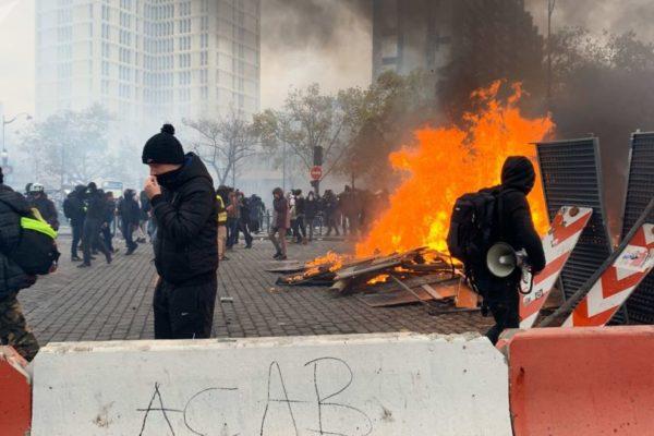 Disturbios en París en primer aniversario de protestas de los chalecos amarillos