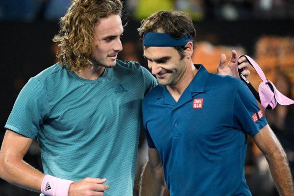 Tsitsipas derrota a Federer y jugará la final de Londres