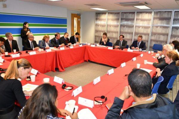 Filipetti y Story se reunieron para tratar asistencia económica de migrantes venezolanos