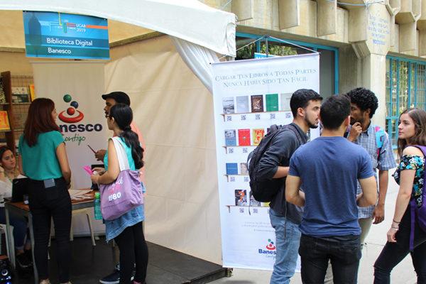 Banesco participa en Feria del Libro del Oeste Caracas Ucab 2019
