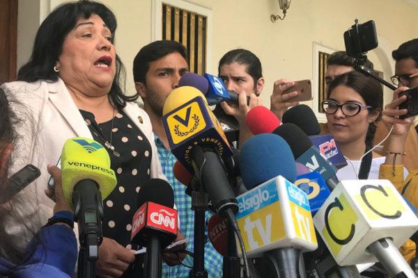 AN confirma fallecimiento de la diputada Bolivia Suárez por covid-19