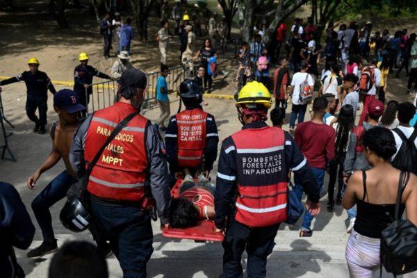 Joven muerta y más de 30 heridos por estampida en concierto en Parque del Este