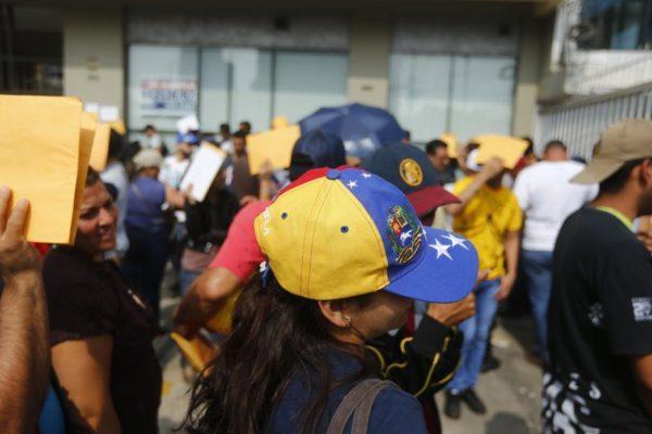 Diáspora venezolana bate récord de asilados políticos en España