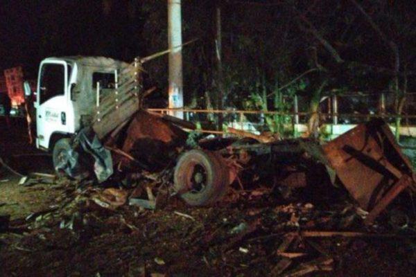 Atentado en Colombia dejó 3 policías muertos y 7 heridos