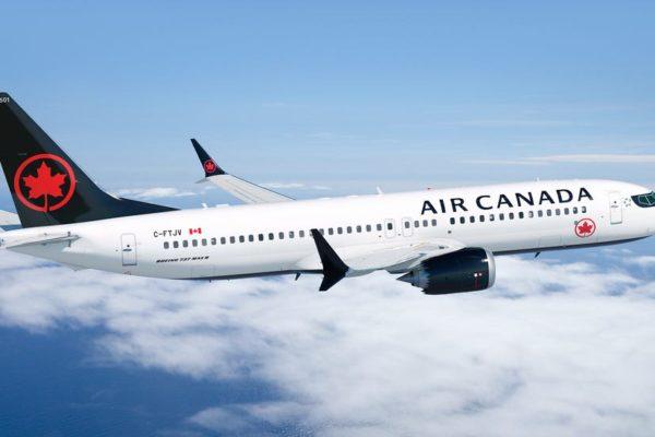 Air Canada suspende 17 rutas internacionales hasta abril