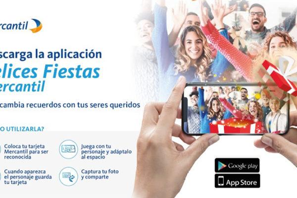 Mercantil lanza aplicación navideña basada en Realidad Aumentada