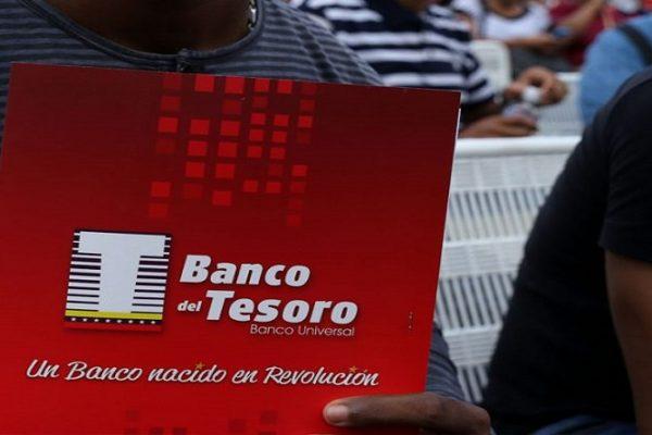 Banco del Tesoro destinó Bs.64.000 millones a créditos sociales en un año