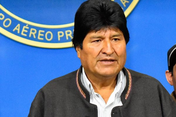 Evo Morales pide que resultados electorales en Bolivia sean respetados por todos