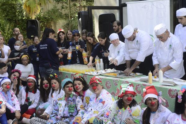 Telefónica Movistar y Plaza's benefician a 250 niños del Hospital Pediátrico San Juan de Dios