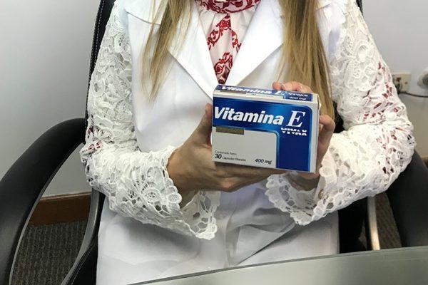 La vitamina E como complemento para una vida saludable