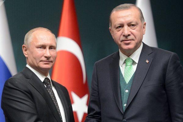 Erdogan y Putin inauguran un gasoducto que conecta a Rusia con Europa