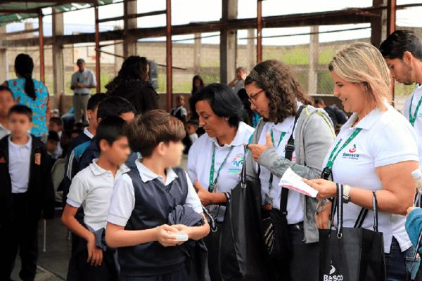 Más de 650 horas de solidaridad brindó el Voluntariado Banesco en 2019