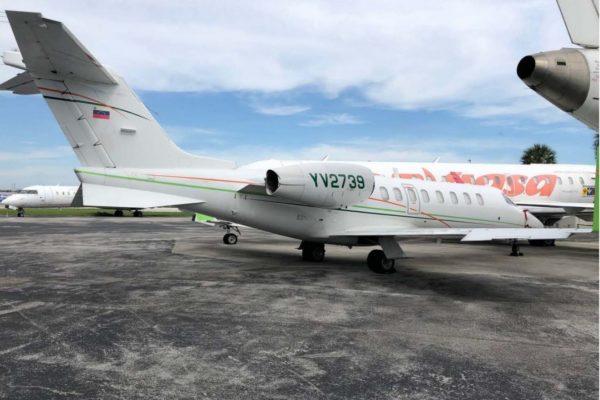 Estados Unidos bloqueó operaciones de 15 aviones de Pdvsa