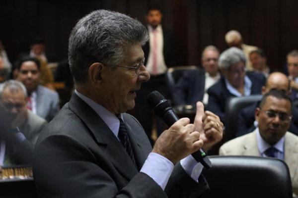 Ramos Allup a Maduro: