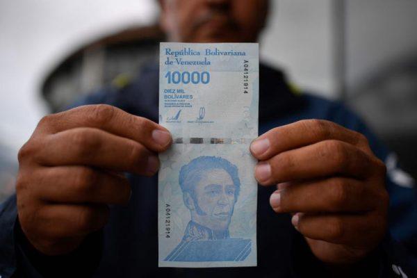 Billetes de 10.000, 20.000 y 50.000 bolívares apenas suman 2,38% del circulante en Venezuela
