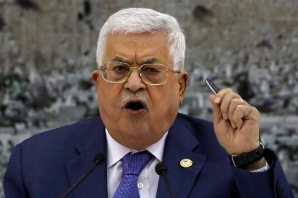 Presidente palestino rompe «todas las relaciones» con Israel y EEUU