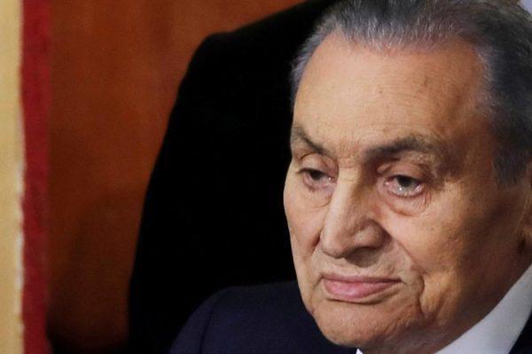 Falleció ex presidente egipcio Hosni Mubarak