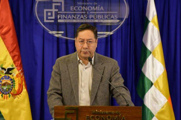 Luis Arce asume presidencia de Bolivia sin mencionar a Evo Morales