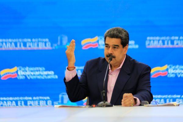 Maduro responde a emergencia con bono «coronavirus» y ofrece pagar nóminas de pymes