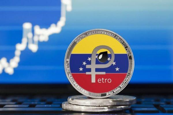 El Petro cae un 10,56% en exchanges y el oficial cotiza en US$58,79