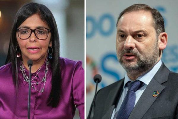 Un juez español pide los vídeos de la estancia de Delcy Rodríguez en España