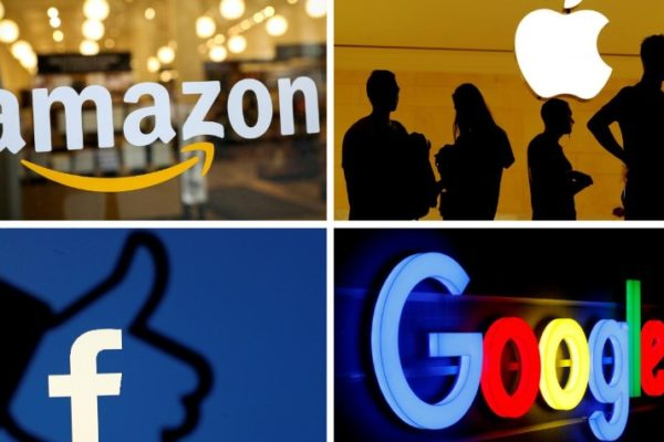 Congresistas EE.UU piden dividir firmas como Amazon, Facebook, Google y Apple