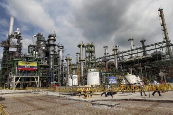 Ecuador presenta licitación para construir una refinería con capital privado