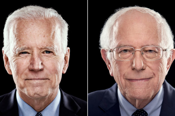 Biden y Sanders inician una campaña mano a mano en la carrera demócrata