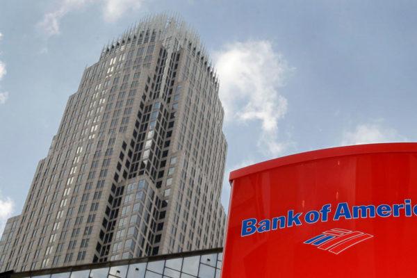 Ganancia del Bank of America cayó 45,15% en el primer trimestre
