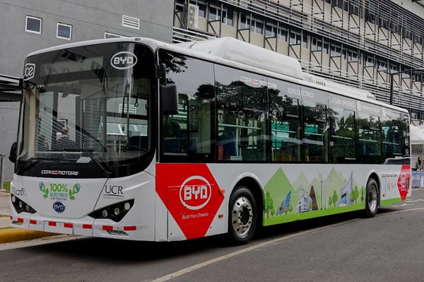 Costa Rica pone en marcha plan para adoptar autobuses eléctricos