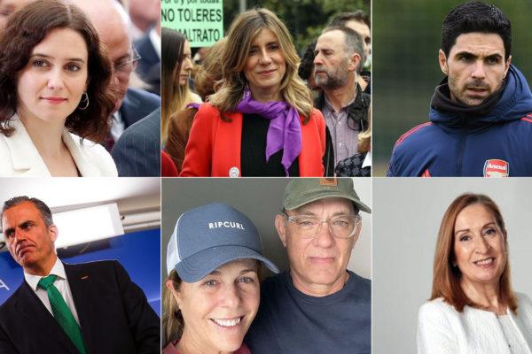 Estos son los famosos y personajes del mundo contagiados por Covid-19