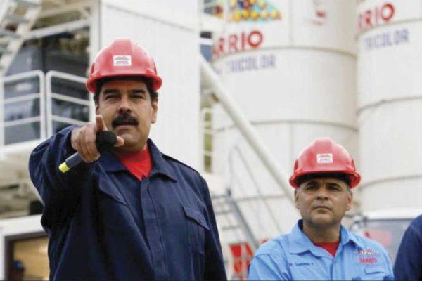 Maduro acude a financiero colombiano para impulsar acuerdo de oro por combustible con Irán