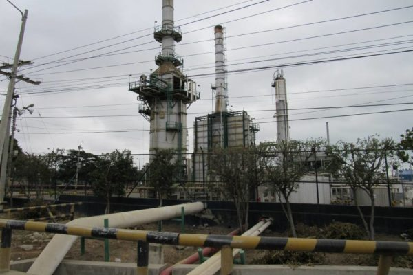 Refinería Libertad en Ecuador suspende de forma parcial sus operaciones