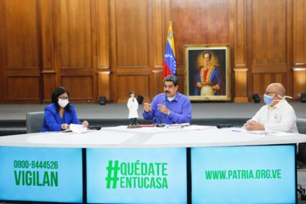 Maduro reporta 181 casos de #Covid19 y advierte que el virus no está contenido