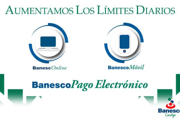 Banesco incrementó límites diarios para operaciones en sus canales electrónicos