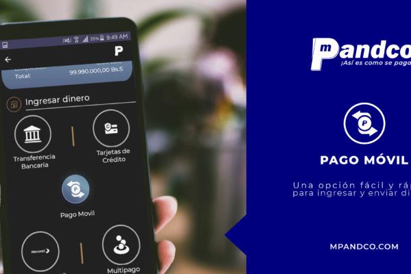 Plataforma electrónica mPandco ahora cuenta con «pago móvil»