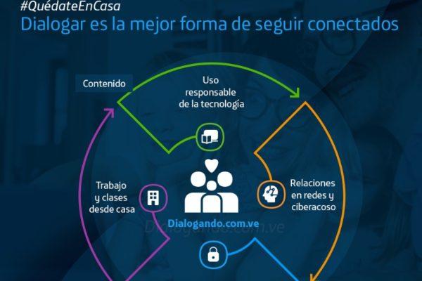 Movistar brinda contenido educativo durante la cuarentena a través de dialogando.com.ve