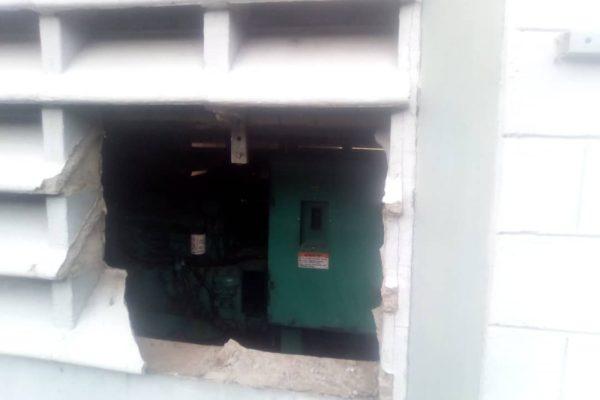 Robo con vandalismo a estación de Movistar dejaría incomunicadas a poblaciones en Bolívar