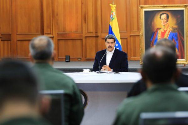 Van 824 casos   Maduro: hay un plan «bioterrorista» con contagios en frontera colombiana
