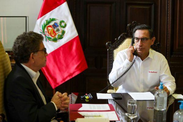 Trump agradece a Perú «su apoyo al retorno de la democracia en Venezuela»