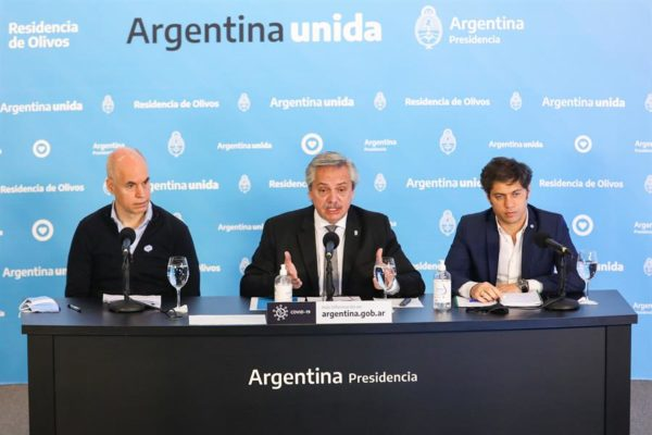 Argentina extiende cuarentena hasta el 7 de junio tras aumento de contagios