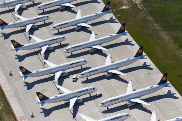 Tráfico aéreo de pasajeros en Europa cayó 64,2% en primer semestre por #Covid19