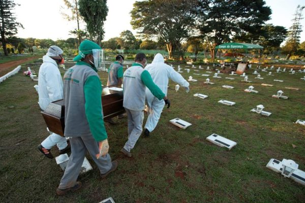 OMS: Suramérica se está convirtiendo en el nuevo epicentro de la pandemia