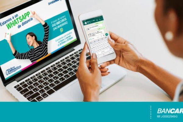 Bancaribe abre canal de WhatsApp para brindar atención más personalizada