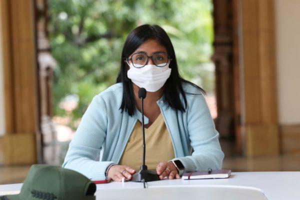Delcy Rodríguez: En 2021 se completará el ciclo de la economía digital en Venezuela