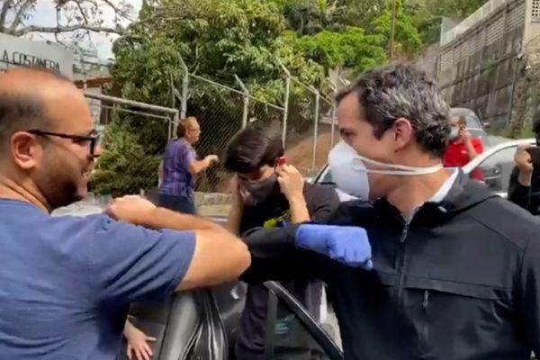 Guaidó: es doloroso que repriman a jubilados que reciben 1,5 o 2 dólares mensuales