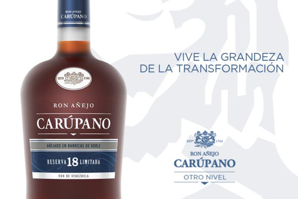 Ron Carúpano lanzó su Ultra Premiun 18 Reserva Limitada en plataforma 100% digital