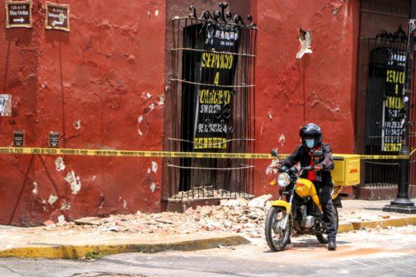 Sismo de magnitud 7,5 sacude a México y deja un muerto en Oaxaca
