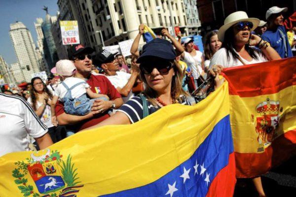 Número de venezolanos residentes en España aumentó 53% en 2020